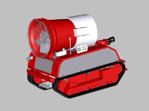 RXR-YM95000D 排烟灭火机器人